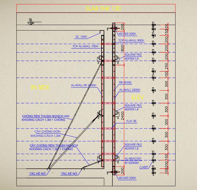 #11 Đọc bản vẽ hướng dẫn lắp dựng coppha nhôm 1