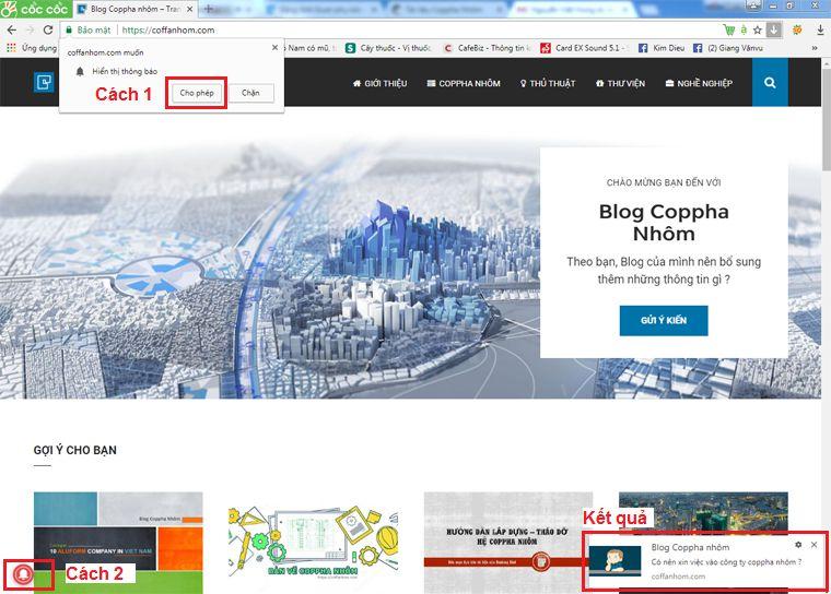 Hướng dẫn đăng ký nhận tin Blog Coppha Nhôm 2
