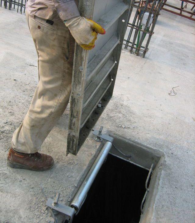 Slab box form & máy nâng cốp pha nhôm tự động 2