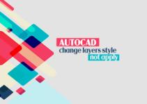 AutoCAD không thể thay đổi kiểu đối tượng 7